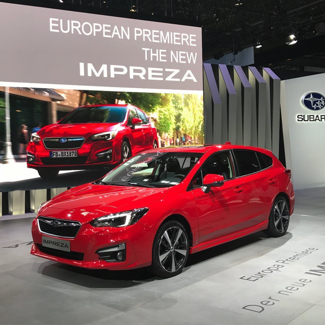 SUBARU IMPREZA PREMIERES AT THE 67TH FRANKFURT INTERNATIONAL MOTOR SHOW